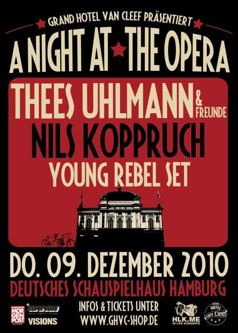 A Night At The Opera @ Schauspielhaus Hamburg